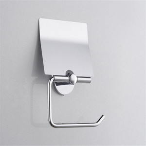 high quality new design brass metal spare toilet paper roll holder