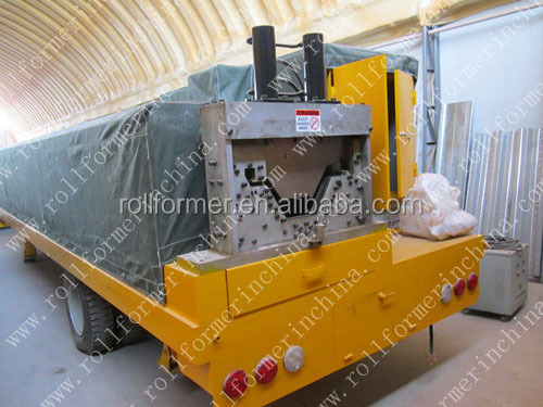 Arch K Type Building Machine/Arch Construction Roof Forming Machine/Arch Steel Shed Building Machine
