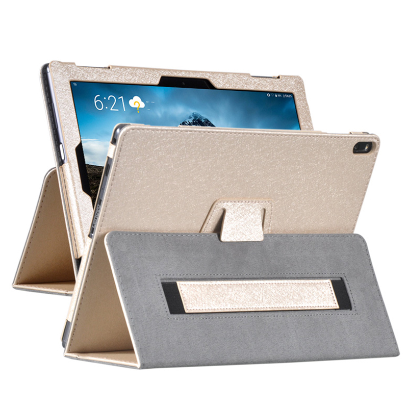 10.0 Flip 3 Folding Case for Lenovo Tab 4 10 Plus Tablet Cover Leather Case With Stand