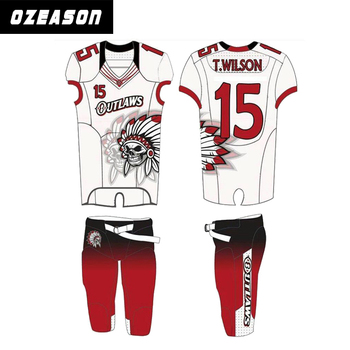 red football practice jersey