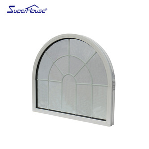 American CSA aluminum arched window frame gothic window
