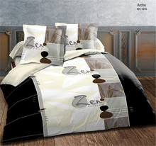 4 Pc Microfiber Printed Bed set Sheet Set