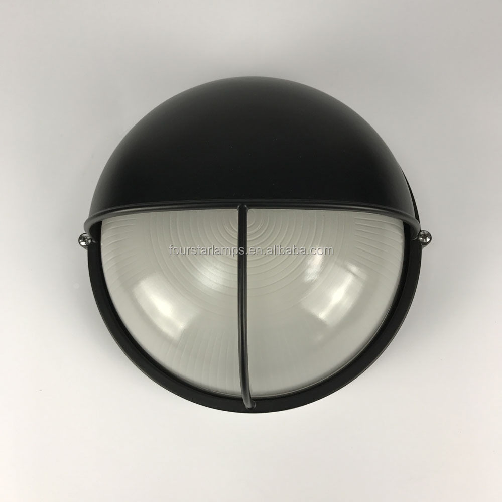 Outdoor CE list dimmable ceiling lamp round 0106/0306 glass diffuser wall lighting moisture-proof lamps