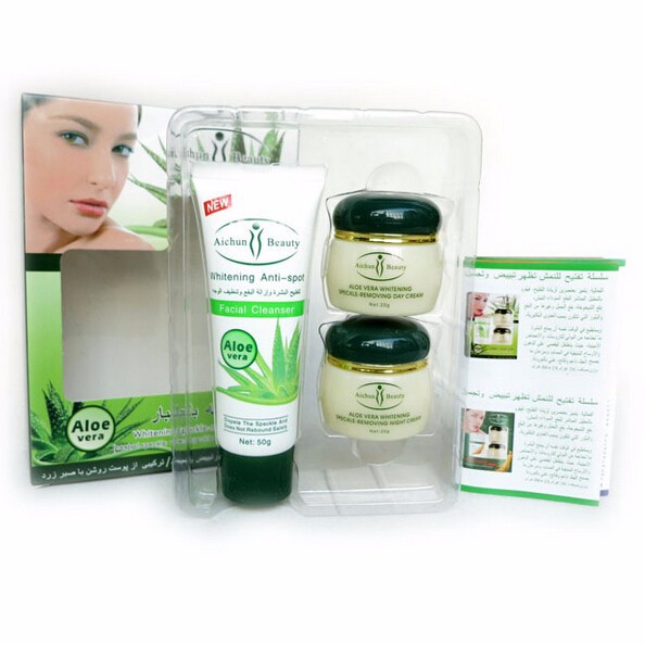 Aichun Aloe anti spot freckle whitening remove cream