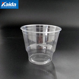 12oz 360ml Pet Ice Cream Cups, Disposable Plastic Cups,Plastic Ice Cream Cone Cups