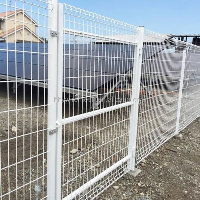 export to Japan 2X2m fence Welded Wire Fencing PVC coated wire mesh fence
