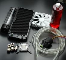Bykski For intel Platform computer CPU water Cooling cooled set water head block radiator water tank water pump heat sink Kits