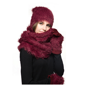 f3d42519bfa8 Cute Scarf Hat Gloves Sets