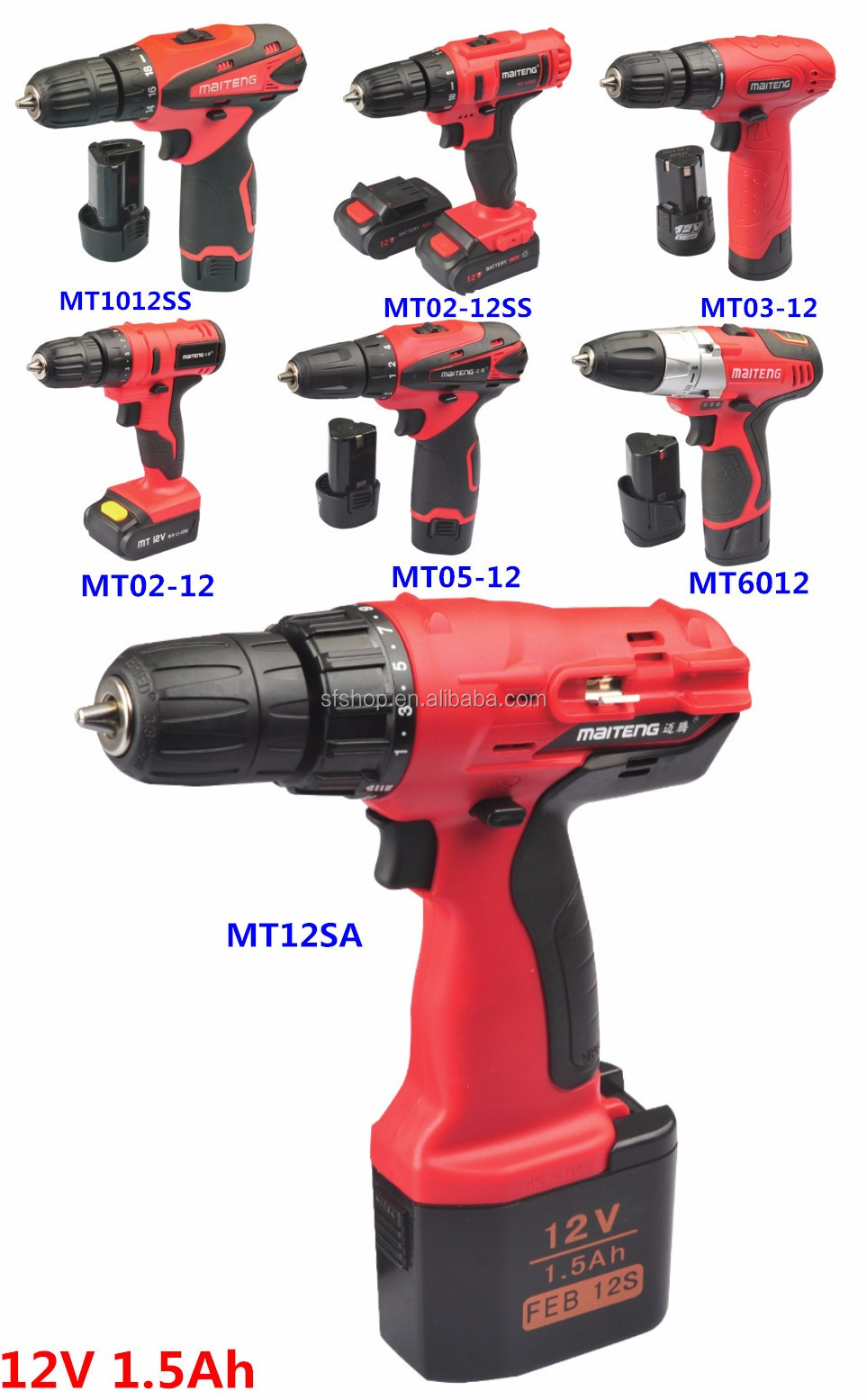 Cordless Drill For Women Chinese Cordless Impact Drill/hand Drill ...