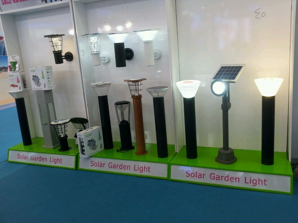 Electric Replacement Garden Lights Black Stainless Steel Solar ...