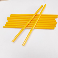 cheap wholesale yellow HB children's wood pencil