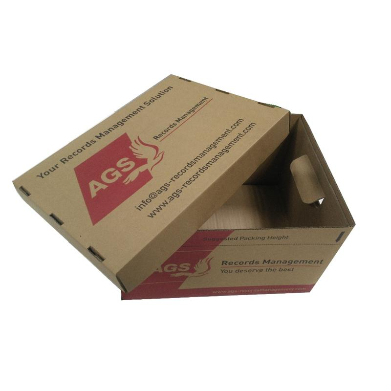 HARD DUTY FLEXO ARCHIVE PAPER PACKING BOX WITH CUSTOM LOGO ON SALE