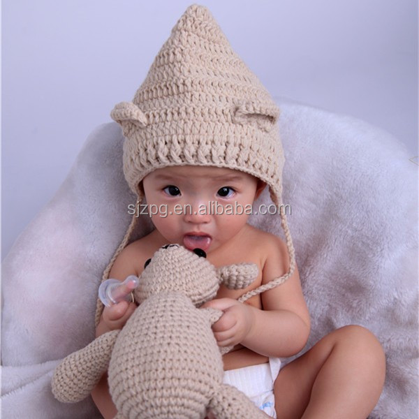 How To Make The Softest Baby Bear Hat Crochet Pattern   600x600