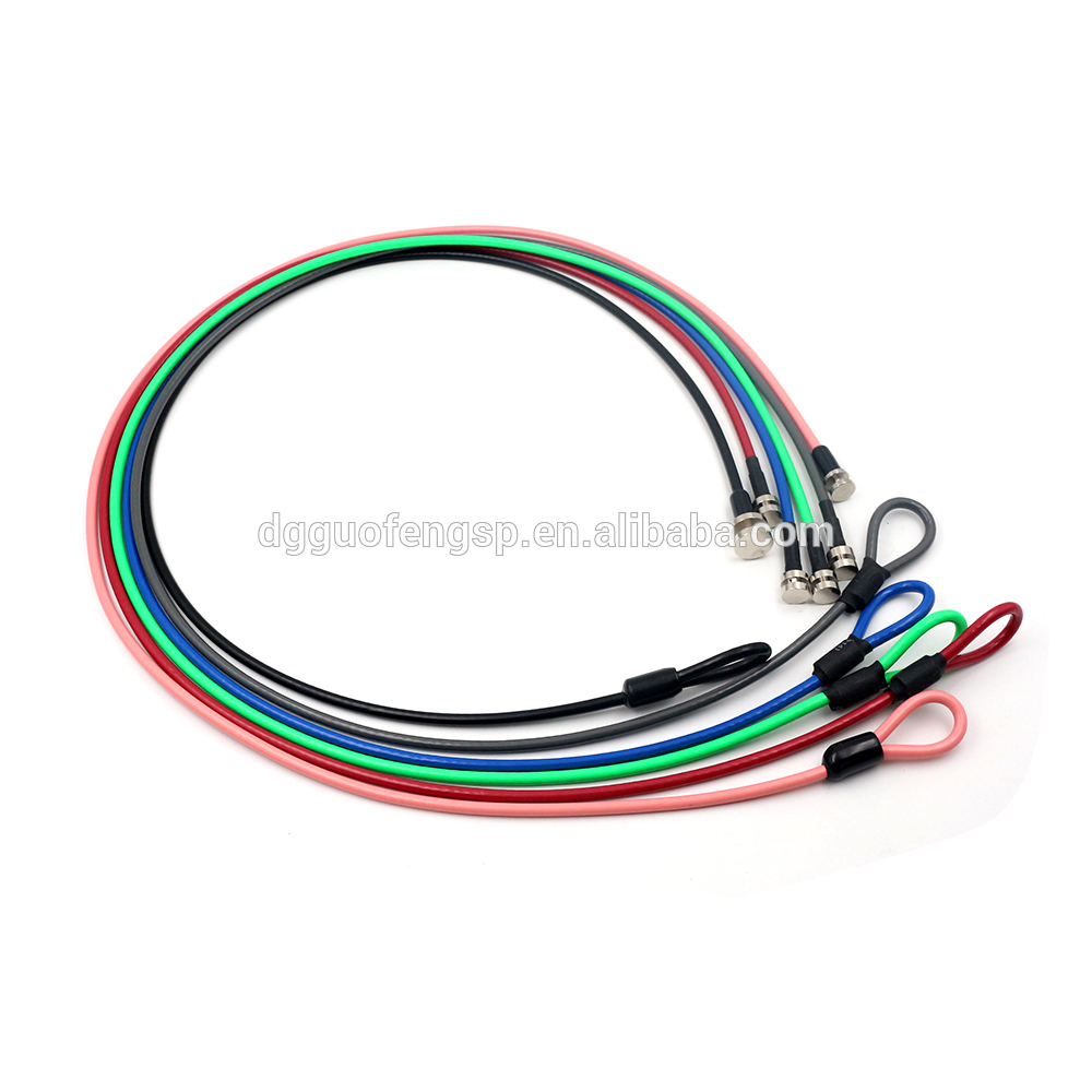 Durable Pvc Coated Steel Wire Rope Sling With Metal Parts Assembly ...