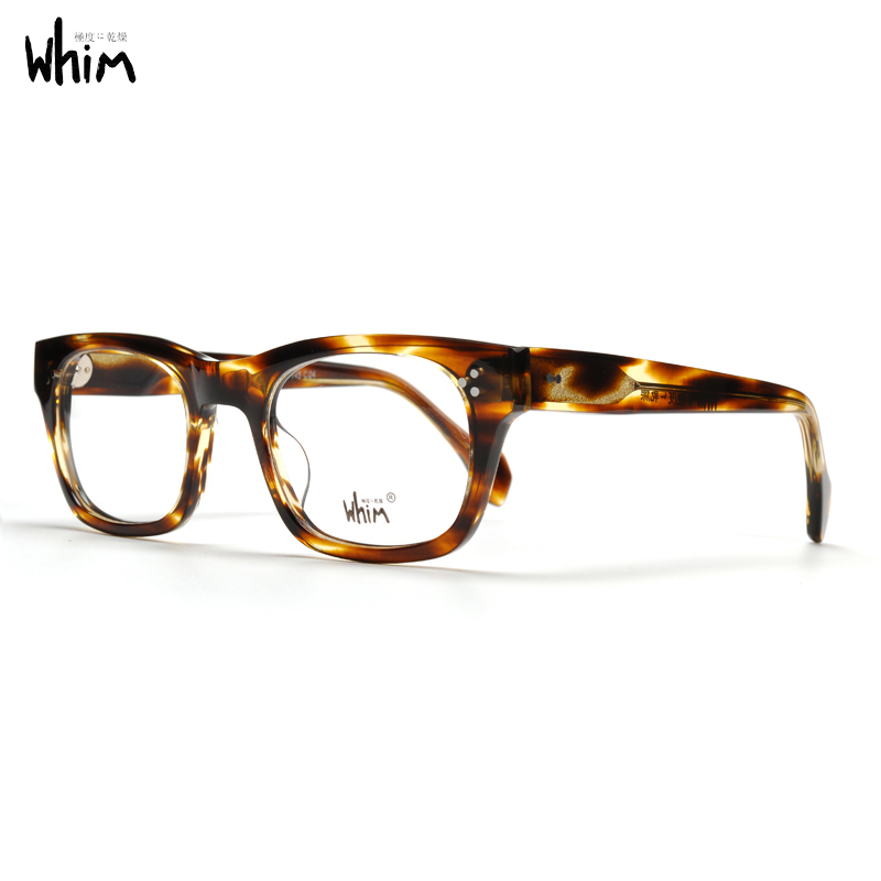 WHIM Fashion Handmade Optical Acetate Glasses Frame With Myopia Lens