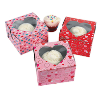 High quality custom cardboard cup cake box packaging manufacture