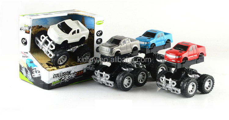 Fun Big Wheel Cross Country Vehicle Mini Friction Suv Car Toys In