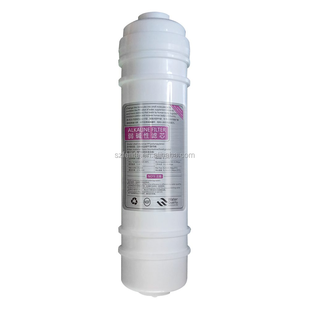 10'' Korean Alkaline filter water filter cartridge water filter parts