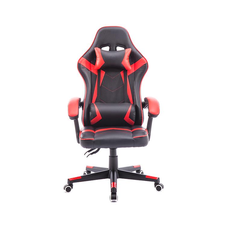 Модное офисное и игровое кресло с высокой спинкой, кожаное красное кожаное офисное игровое кресло