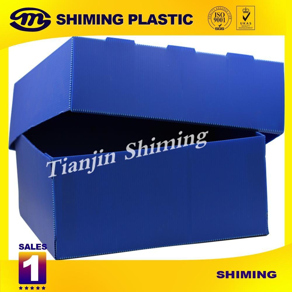 Pp Corrugado Caja De Almacenaje Plegable Ventas Calientes Barato  ~ Cajas Plastico Almacenaje Baratas