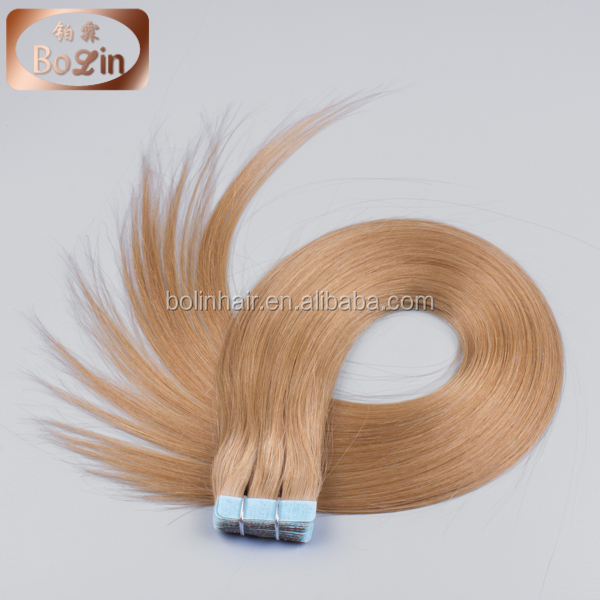 latest product of china wholesale tape hair extensions 30 inch remy tape hair extensions