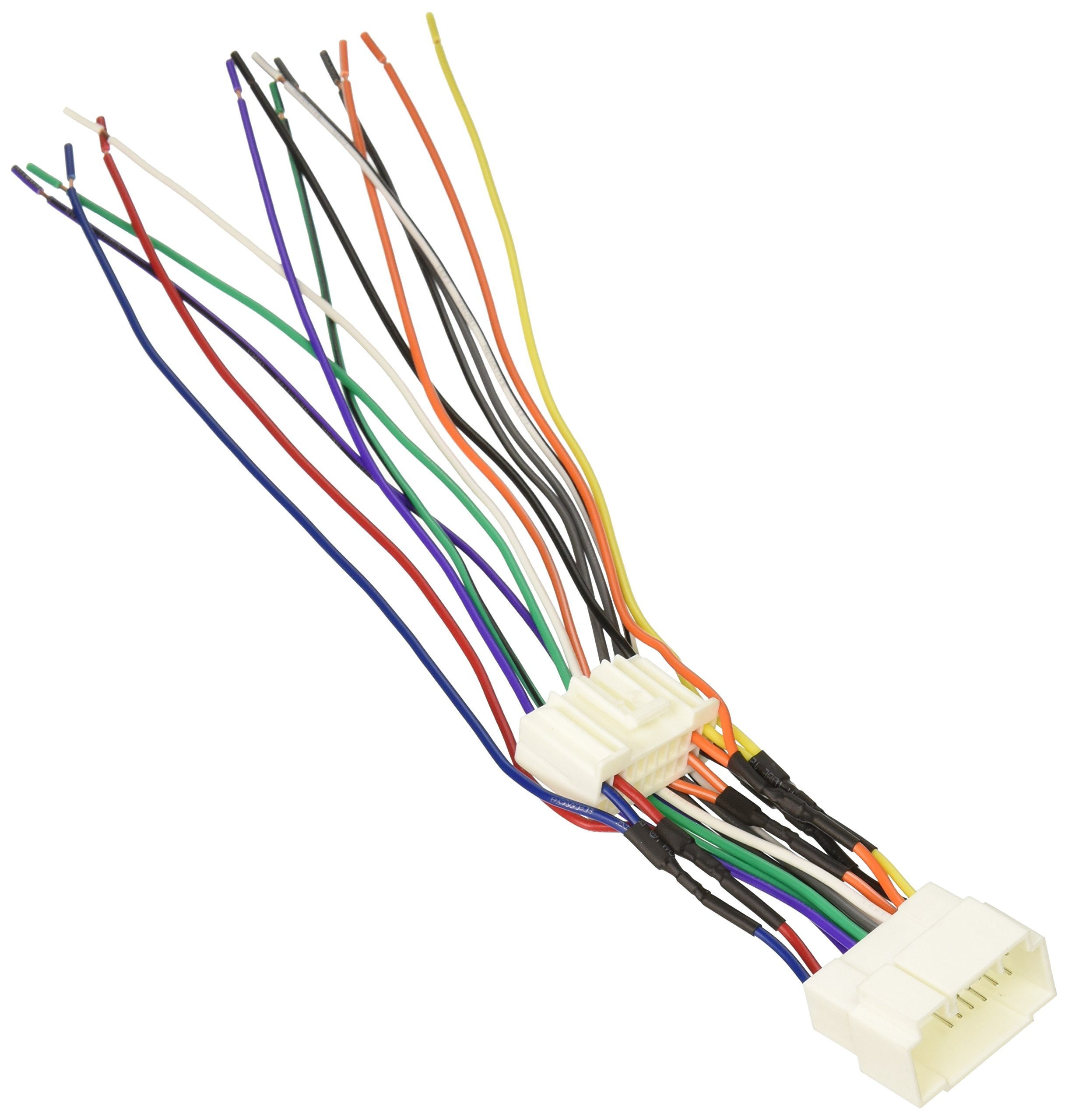 Get Quotations · Scosche Radio Wiring Harness for 2003-Up Honda Accord Ex  V6 Radio Relocation Harness
