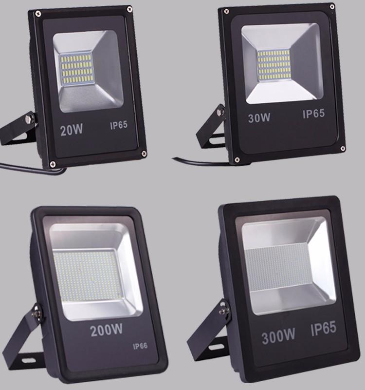 Led Reflector 50w 100w 150w 200w Smd Led Flood Light Waterproof ...