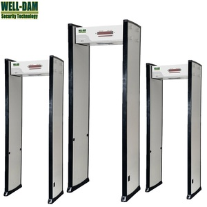 Single zone portable walk through metal detector price