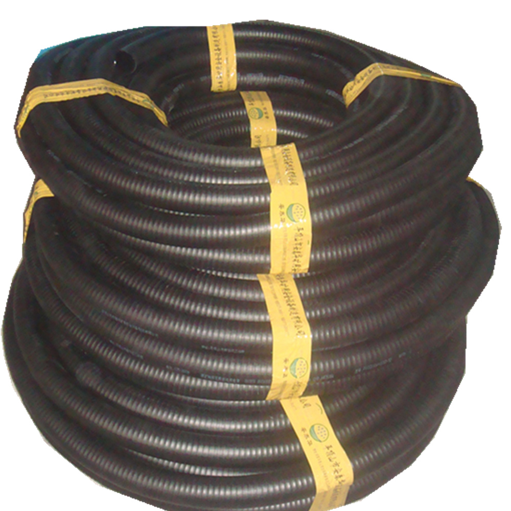 One-shot thermoplastic hose for coal mine gas drainage