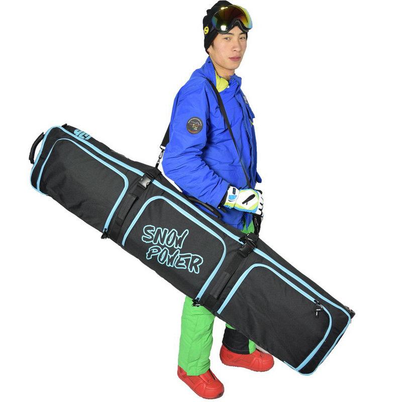 de esqui profissional com roda, saco duplo para ski