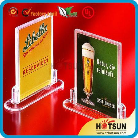 Acrylic Menu Holder,Menu Board,Restaurant Menu Cover