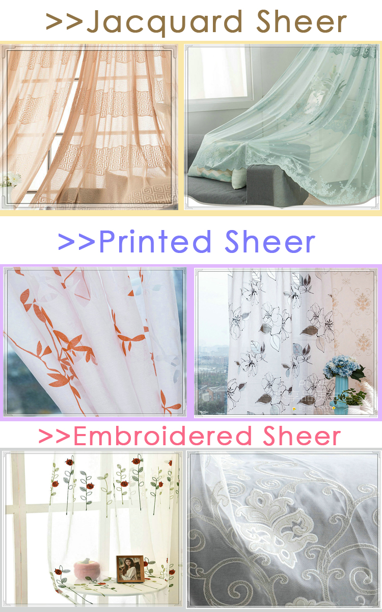 Good manufacturer embroidery machine lace cafe curtains
