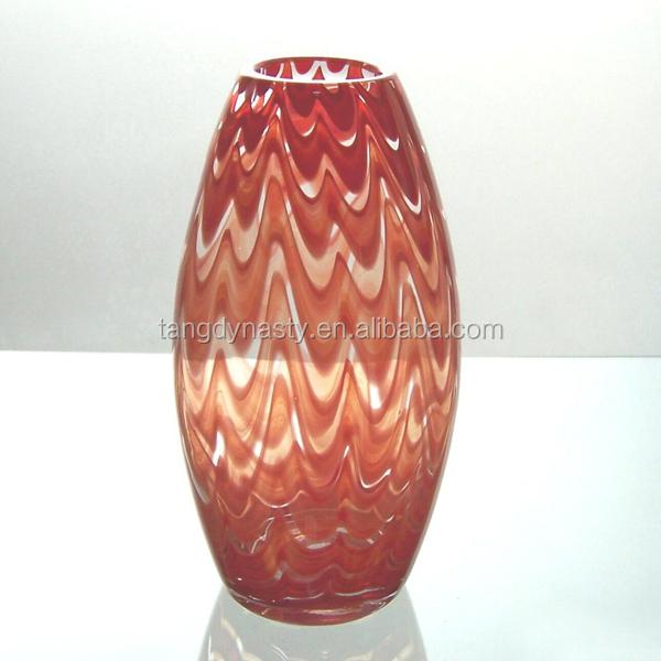 buena calidad florero de cristal jarrones de cristal de altura