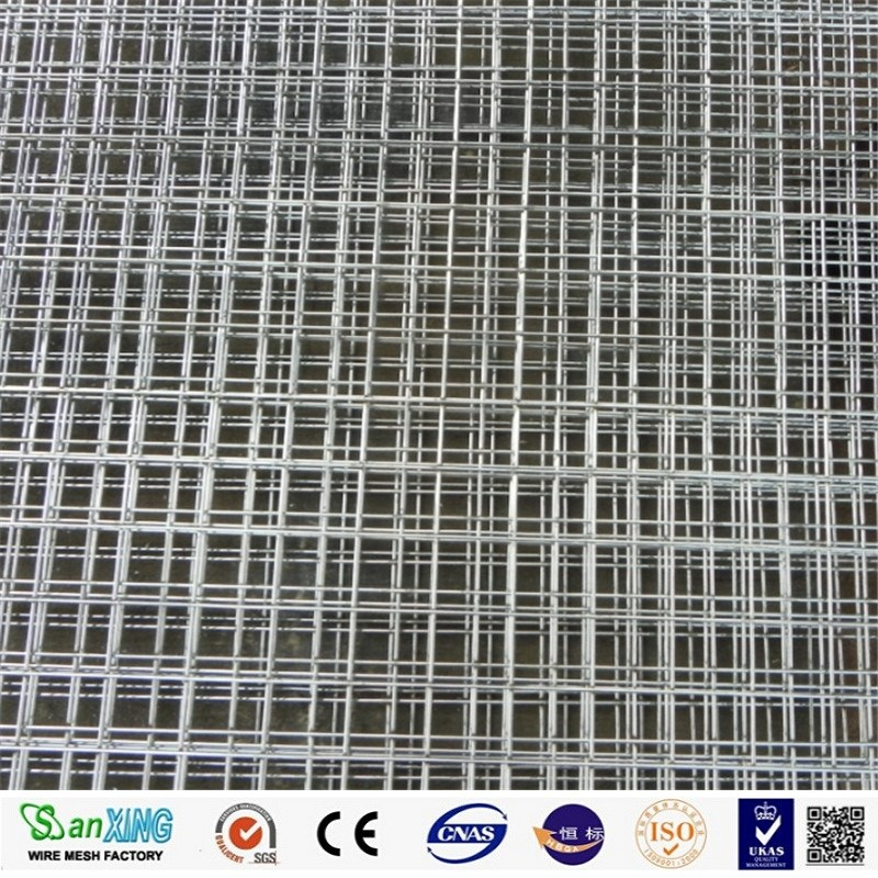 sanxing factory supply 1/4inch galvanized welded wire mesh