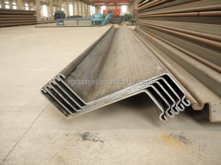 High Quality Cold Bended Z Type Astm A572-60 Steel Sheet Pile For ...