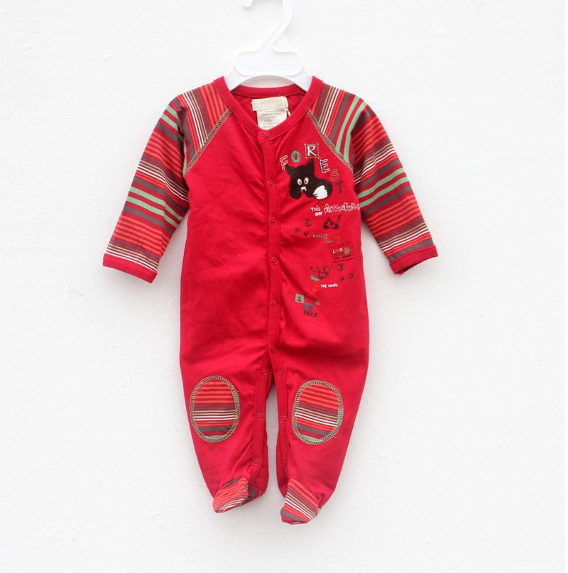 R&H factory hot sales 2017 new style Christmas baby home wear
