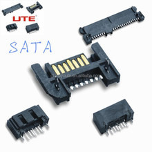 Sata connector Male 7Pin connector with SMT
