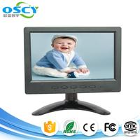 7 inch TFT lcd monitor with AV BNC VGA input /7inch VGA monitor