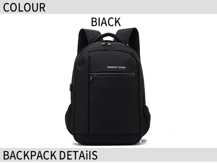2019 touristgear mochilas  usb charging bag oem school backpack with usb charger wholesale