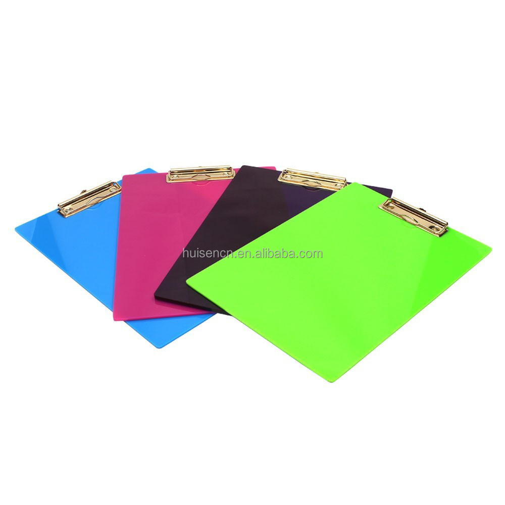A4 paper clipboard and metal clipboard clips