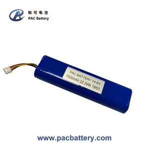 ICR18650 li ion battery pack 2400mAh 14.8V with SMbus smart PCM