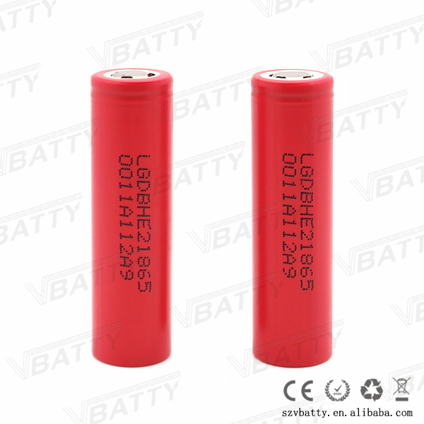 Cheap 35a batteries lgdbhe218650 35a original red lg battery
