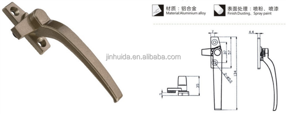 Bathroom Window Handle window handle singapore aluminum sliding window knob and latch