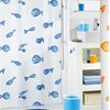 High Quality Waterproof Custom Printed Shower Curtain