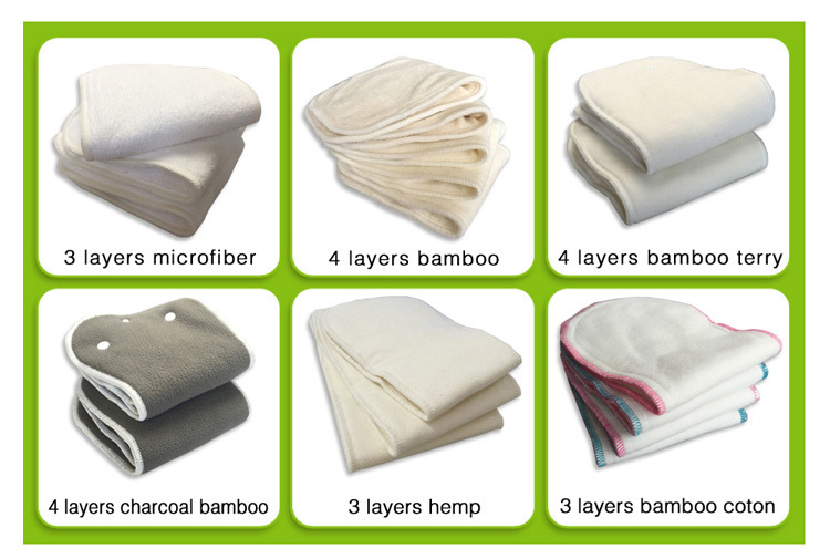 Stylish Design Reusable Thick Abdl Cloth Diaper For Adult PSF223A