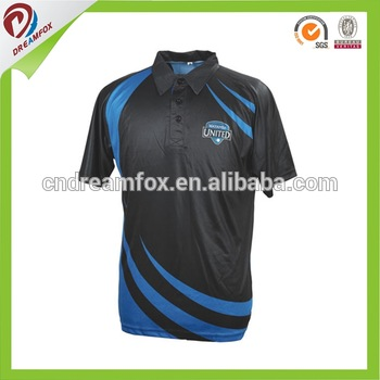 a615533a5 custom design sublimated cricket jersey new design cricket jerseys digital  print sport t-shirts cricket