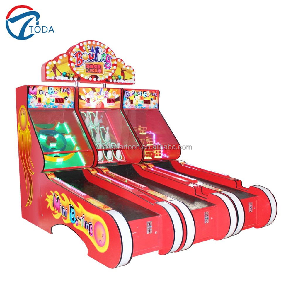 hot sale indoor funny bowling redemption arcade game machine/Arcade Redemption Electronic Game Machine