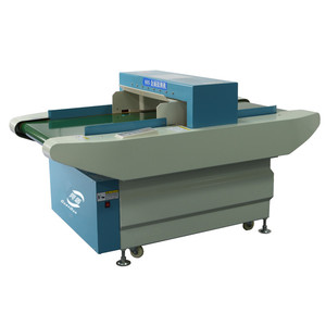 Broken needle inspection belt conveyor textile metal detector