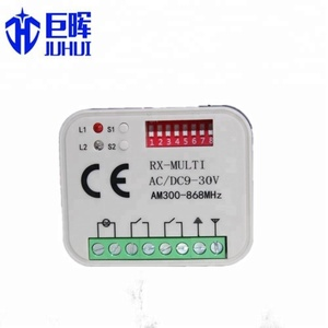 home automation Sliding gate control board remotes universal learning remote controls with transmitter and receiver