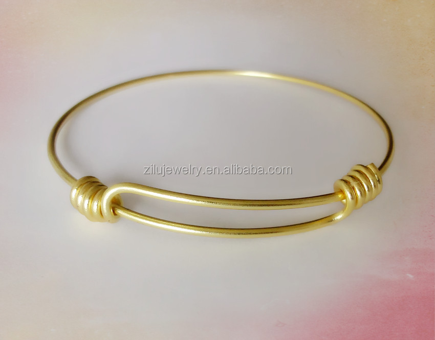 Whole Raw Br Expandable Wire Bangle Handmade Jewelry Product On Alibaba